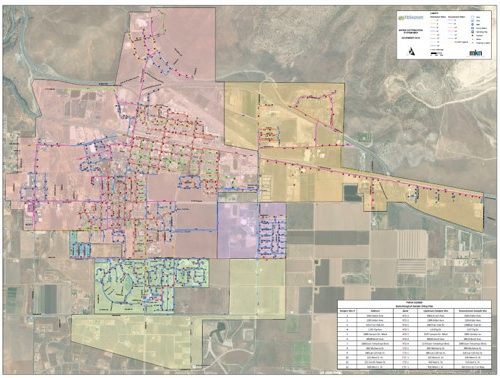 City of Tehachapi Hydraulic Modeling, Master Planning, and CIP Development